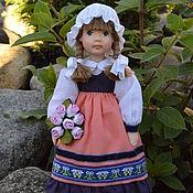Куклы и игрушки ручной работы. Ярмарка Мастеров - ручная работа Кукла из  полимерной глины Анфиса. Handmade.