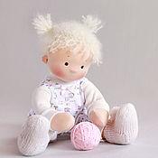 Куклы и игрушки ручной работы. Ярмарка Мастеров - ручная работа Непоседа, игровая текстильная кукла. Handmade.