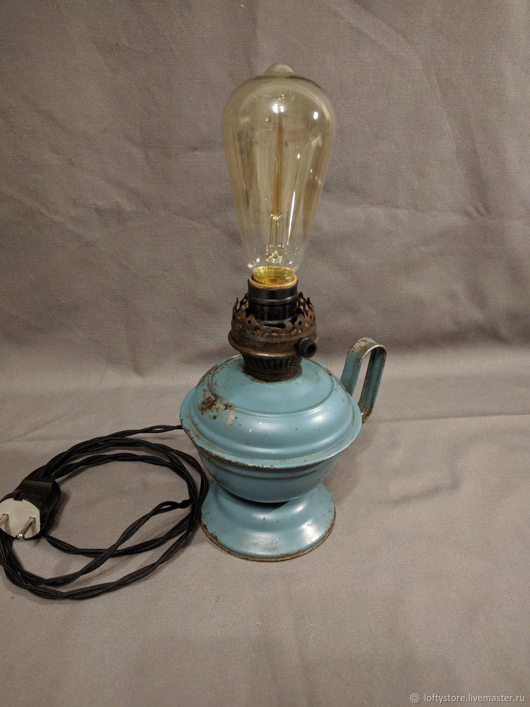Table lamp: Lamp 'Elektrokeramika', Table lamps, Permian,  Фото №1