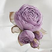 Свадебный салон ручной работы. Ярмарка Мастеров - ручная работа Лавандовая роза. Handmade.