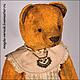 Мишки Тедди ручной работы. Ярмарка Мастеров - ручная работа. Купить Пелагея. Handmade. Мишки тедди, винтаж, мишка в платье