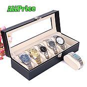 Для дома и интерьера handmade. Livemaster - original item Box for watches and bracelets, 6 pillows. Handmade.