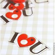 Элементы декора ручной работы. Ярмарка Мастеров - ручная работа Пластиковый зажим  для пакета.. Handmade.