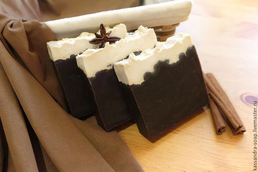 """Мыло ручной работы. Ярмарка Мастеров - ручная работа. Купить Натуральное шоколадно-молочное мыло """"Le Chocolat"""". Handmade. Коричневый"""