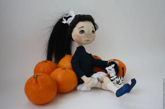 Коллекционные куклы ручной работы. Ярмарка Мастеров - ручная работа. Купить Коллекционная кукла. Handmade. Рыжий, кукла, кукла интерьерная