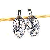 Материалы для творчества handmade. Livemaster - original item Basis for earrings flowers. Handmade.