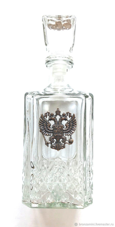 Decanter for vodka, Decanters, Kislovodsk,  Фото №1
