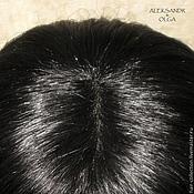 Украшения ручной работы. Ярмарка Мастеров - ручная работа НАКЛАДКА для Волос, теменная - постиж, из натуральных волос, купить. Handmade.