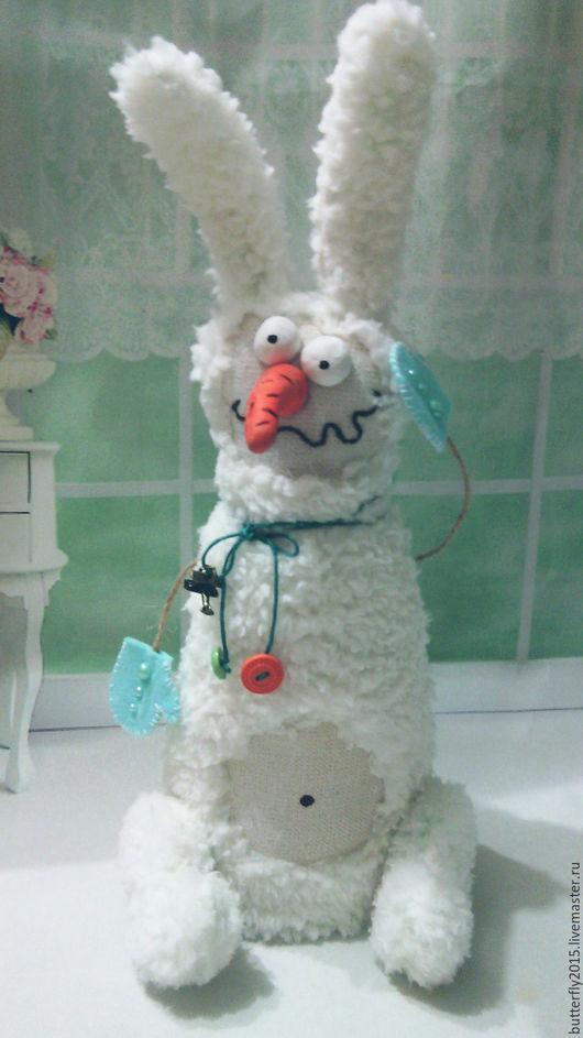 Куклы и игрушки ручной работы. Ярмарка Мастеров - ручная работа. Купить СнегоПрыг. Handmade. Белый, подарок на новый год, синтепух