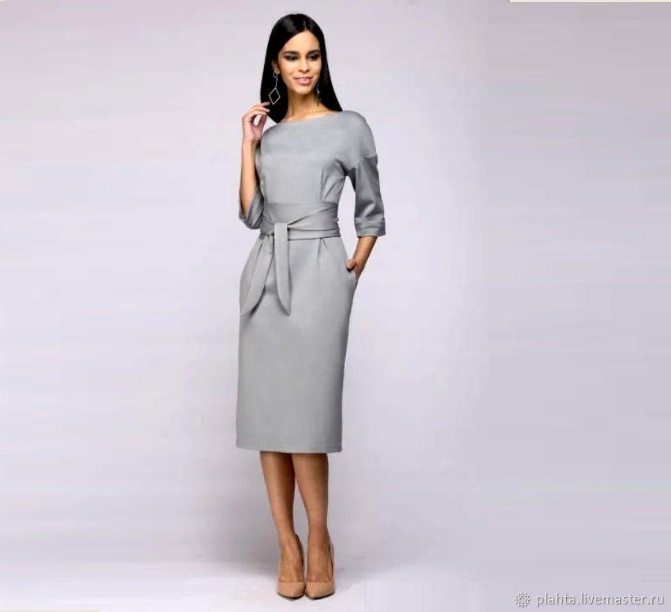 86512526f68 Платья ручной работы. Ярмарка Мастеров - ручная работа. Купить Платье для  работы