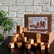 """Куклы и игрушки ручной работы. Ярмарка Мастеров - ручная работа Кубики деревянные """"Классика"""" 24шт.. Handmade."""