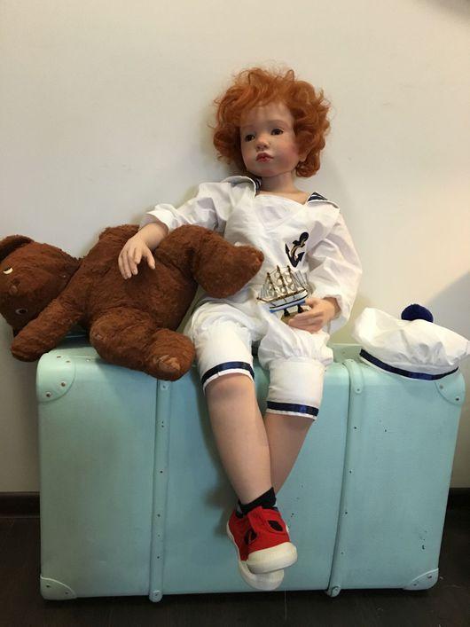 """Куклы-младенцы и reborn ручной работы. Ярмарка Мастеров - ручная работа. Купить """"Алешкины мечты """"(кукла Реборн ). Handmade."""