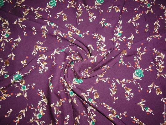 Шитье ручной работы. Ярмарка Мастеров - ручная работа. Купить штапель бордо. Handmade. Бордовый, ткань штапель, ткань бордо