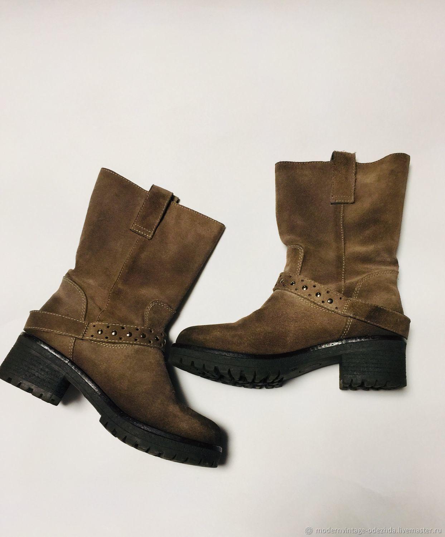 45e333caf Винтажная обувь. Ярмарка Мастеров - ручная работа. Купить Винтаж:  Полусапоги BALDININI TREND.