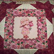 Для дома и интерьера ручной работы. Ярмарка Мастеров - ручная работа Лоскутная подушка МИЛАНА. Handmade.