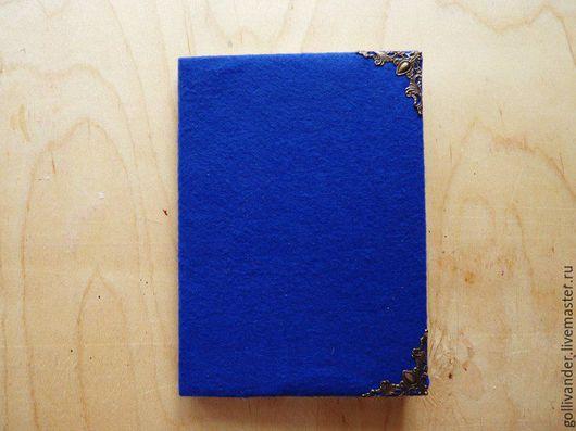 """Блокноты ручной работы. Ярмарка Мастеров - ручная работа. Купить Блокнот """"Когтевран"""". Handmade. Тёмно-синий, хогвартс, лавка"""