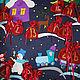 """Адвент-календарь """"Новогодняя сказка"""". Календари. Asta. Ярмарка Мастеров.  Фото №4"""