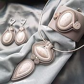 Украшения handmade. Livemaster - original item Jewelry set: with coral and agate. Handmade.