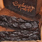 """Косметика ручной работы. Ярмарка Мастеров - ручная работа """"Шоколадно-пряничное"""" натуральное мыло ручной работы. Handmade."""