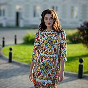 Одежда ручной работы. Ярмарка Мастеров - ручная работа Красивое платье,платье в офис,нарядное платье,шелковое платье. Handmade.