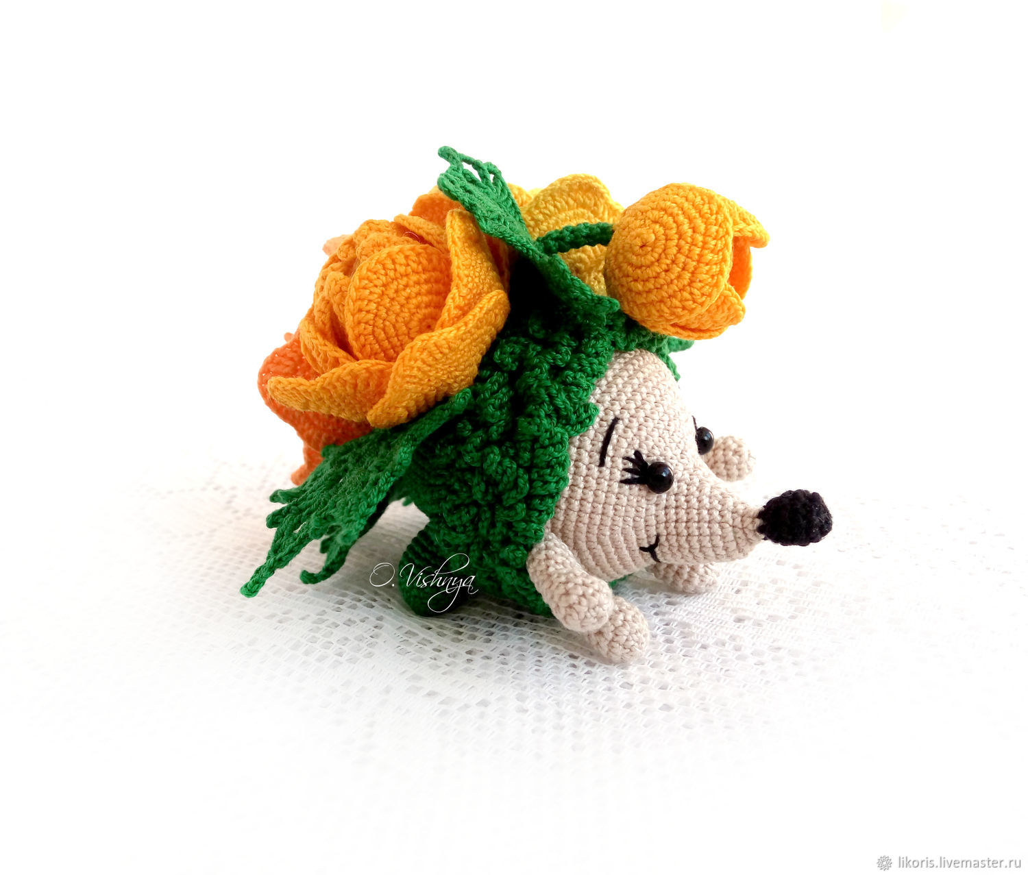 The globe! Collection ' Flower hedgehogs!', Stuffed Toys, Novosibirsk,  Фото №1