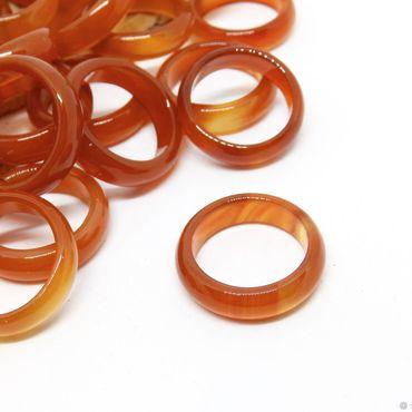 Decorations handmade. Livemaster - original item Ring of agate, carnelian, fire Dance 17.5 size. Handmade.