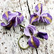 Украшения handmade. Livemaster - original item Iris brooch. Handmade.
