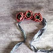 Украшения handmade. Livemaster - original item Felted jewelry-choker
