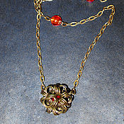 Украшения handmade. Livemaster - original item Pendant on a chain. Handmade.