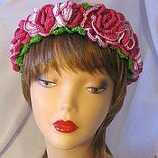 Украшения handmade. Livemaster - original item A flower crown Rose headband, hoops. Handmade.