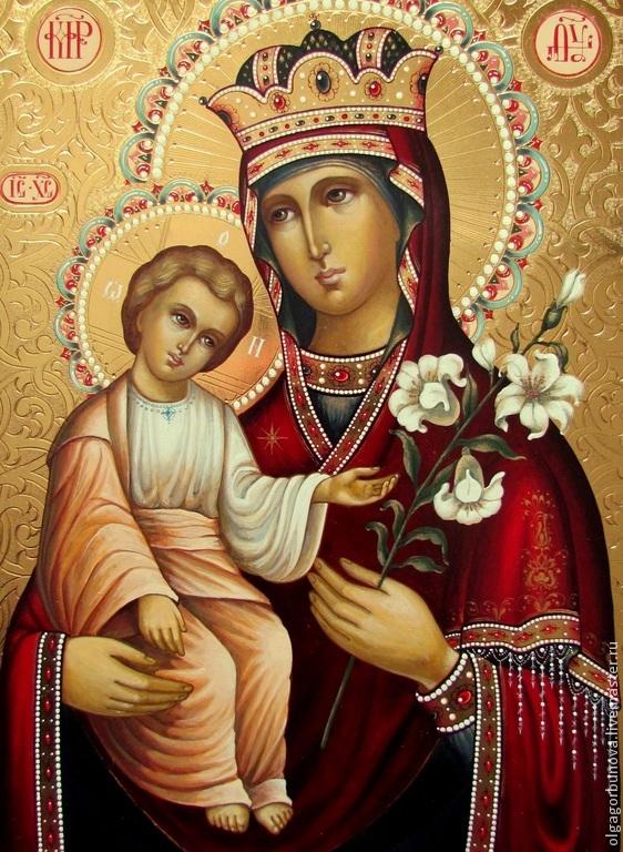 Богородица-неувядаемый цвет