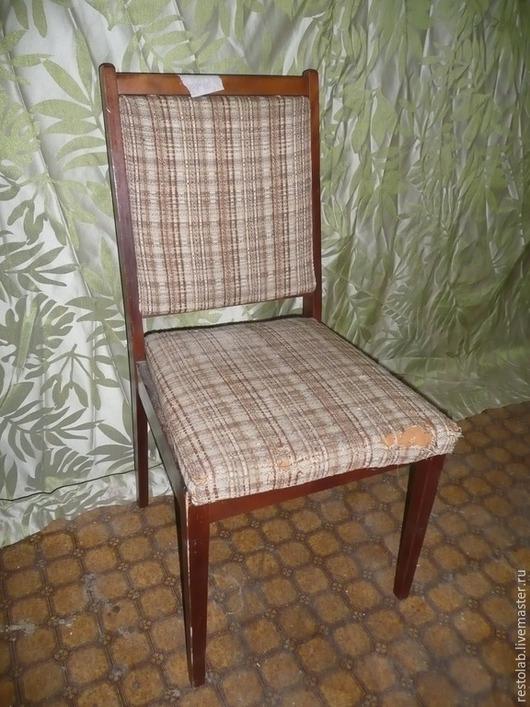 Реставрация. Ярмарка Мастеров - ручная работа. Купить Реставрация и перетяжка стульев ГДР массива бука.. Handmade. Разноцветный, стул, лак