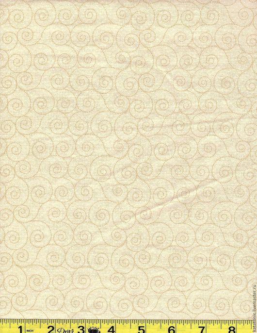 Шитье ручной работы. Ярмарка Мастеров - ручная работа. Купить 1333 Американская ткань. Handmade. Бежевый, ткань с рисунком, ткань