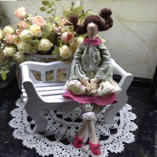 Куклы Тильды ручной работы. Ярмарка Мастеров - ручная работа. Купить кукла тильда ручной работы. Handmade. Ярко-зелёный