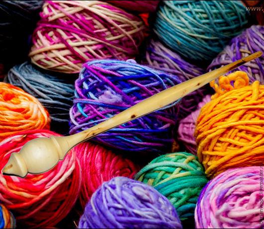 Другие виды рукоделия ручной работы. Ярмарка Мастеров - ручная работа. Купить Веретено для прядения Черемуха (Натуральное дерево). Handmade.