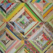 """Для дома и интерьера ручной работы. Ярмарка Мастеров - ручная работа Покрывало """"Калейдоскоп"""". Handmade."""