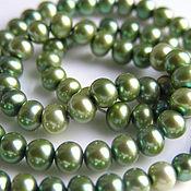 handmade. Livemaster - original item Beads: natural pearl thread. Handmade.