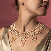 "Украшения handmade. Livemaster - original item Necklace ""Sun Splinter"". Handmade."