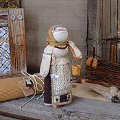 """Народная кукла ручной работы. Ярмарка Мастеров - ручная работа Кукла оберег Берегиня дома """"Весенние хлопоты"""". Handmade."""