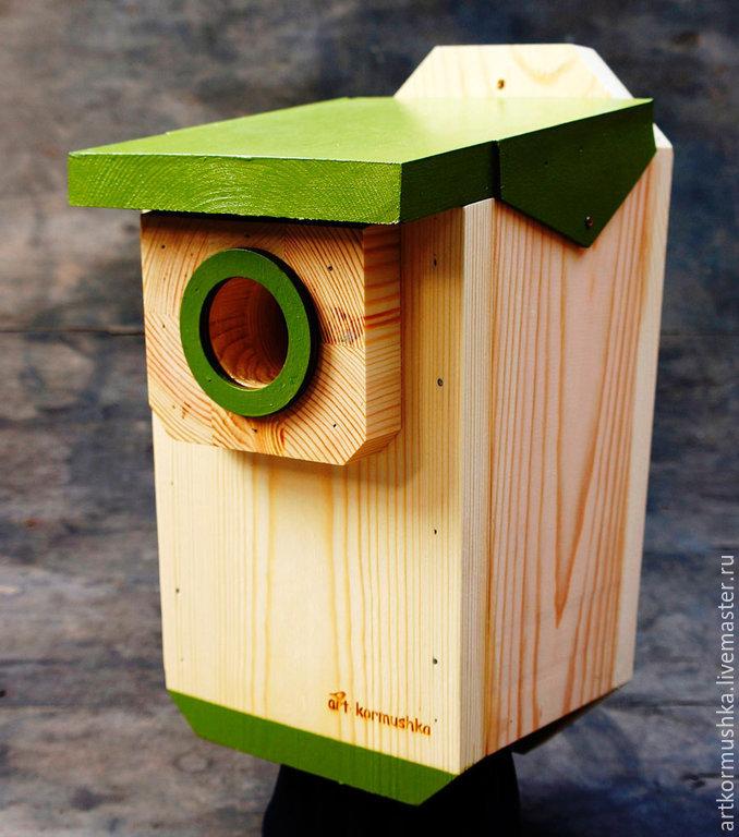 Birdhouse handmade ' Pro 50', Bird feeders, Moscow,  Фото №1