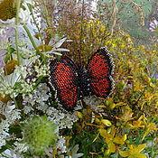 """Украшения ручной работы. Ярмарка Мастеров - ручная работа Броши """"Бабочки"""" - разные. Handmade."""