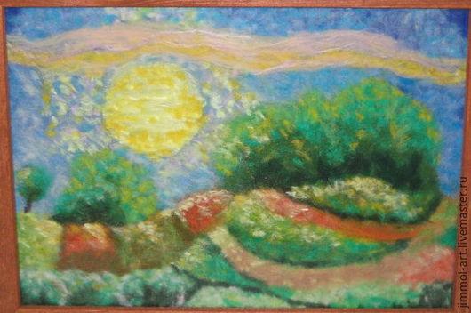 Мастер Леонита Абрекова картина продана