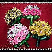 Цветы и флористика ручной работы. Ярмарка Мастеров - ручная работа Свадебный букет невесты. Handmade.