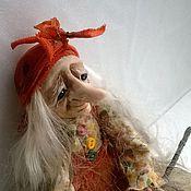 """Куклы и игрушки ручной работы. Ярмарка Мастеров - ручная работа куколка """" Ягуля в лопаточках """". Handmade."""
