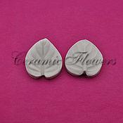 Материалы для творчества handmade. Livemaster - original item Silicone mold(Weiner) leaf violet, small and large. Handmade.