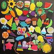 Куклы и игрушки ручной работы. Ярмарка Мастеров - ручная работа Игра Съедобное/Несъедобное 52 карточки, 2 коробочки, детская игра. Handmade.