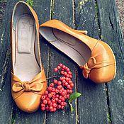 """Обувь ручной работы. Ярмарка Мастеров - ручная работа Туфли """"Золотая осень"""". Handmade."""