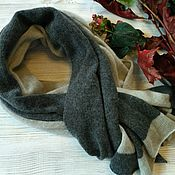 Аксессуары handmade. Livemaster - original item Scarf made of 100% cashmere Loro Piana and Cariaggi (Italy). Handmade.