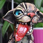 Куклы и игрушки handmade. Livemaster - original item Chesky, woody hunter. Cat race.. Handmade.