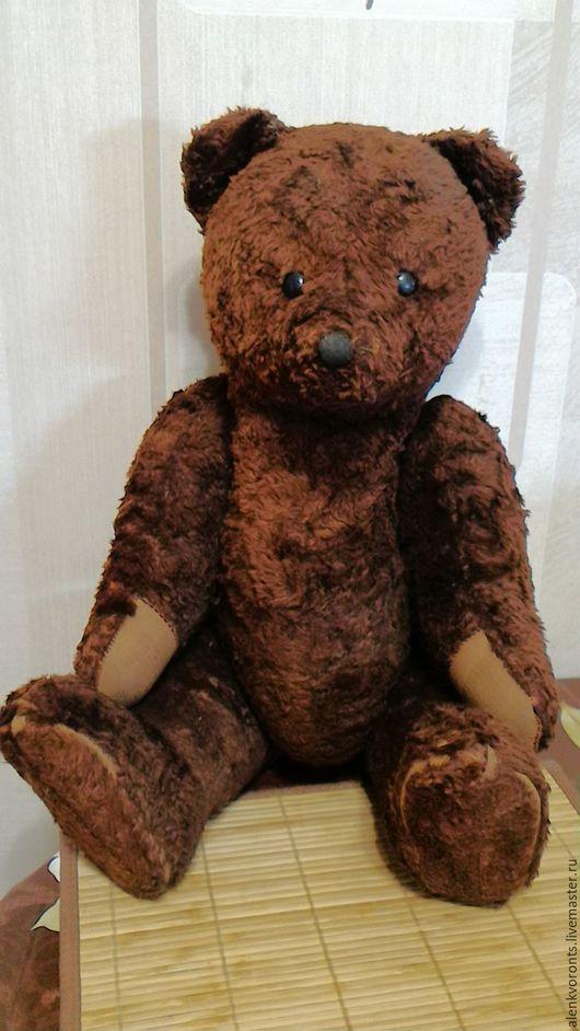 Винтажные куклы и игрушки. Ярмарка Мастеров - ручная работа. Купить Мишка , медведь, антикварный  СССР РЕДКИЙ 56 см. Handmade.